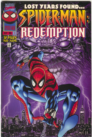 Spider-Man Redemption 1 Marvel 1996 NM Mike Zeck Ben Reilly NYC Skyline