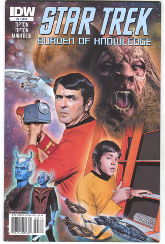 Star Trek Burden Of Knowledge 3 A IDW 2010 NM Joe Corroney