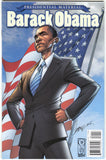 Presidential Material Barack Obama 1 IDW 2018 VF NM J Scott Campbell