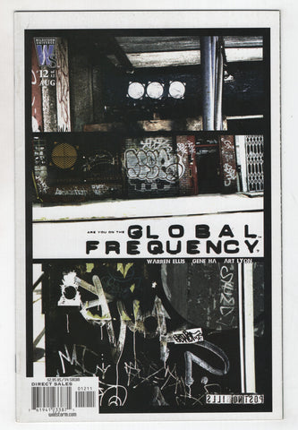 Global Frequency 12 Wildstorm 2003 NM Brian Wood Warren Ellis