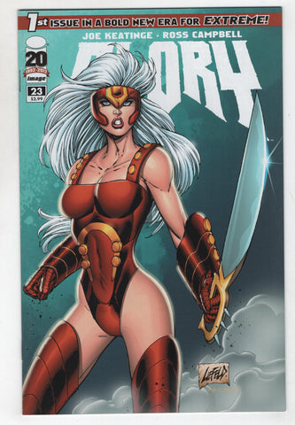 Glory 23 B 3rd Series Image 2012 NM Rob Liefeld Variant