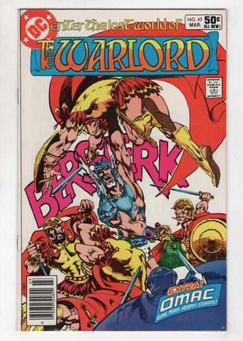 Warlord 43 DC 1981 FN VF Mike Grell OMAC