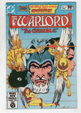 Warlord 44 DC 1981 NM- Mike Grell OMAC