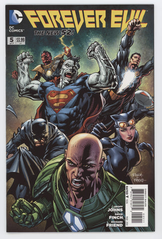 Forever Evil #5 A (Of 7) DC 2014 David Finch GeoFF Johns New 52