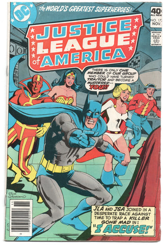 Justice League Of America 172 DC 1979 FN Batman Superman Power Girl