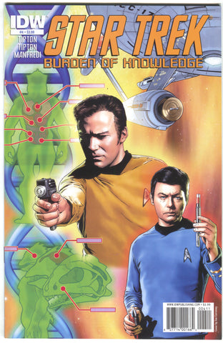 Star Trek Burden Of Knowledge 4 A IDW 2010 NM- Joe Corroney