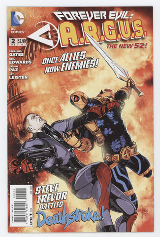 Forever Evil Argus #2 A (Of 6) DC 2014 Mikel Janin Sterling Gates New 52