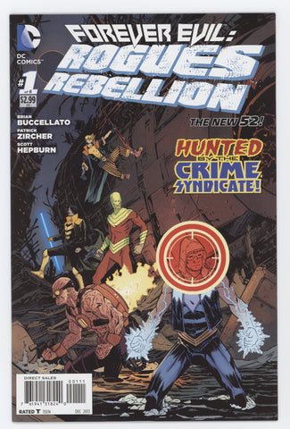 Forever Evil Rogues Rebellion #1 A (Of 6) DC 2013 Declan Shalvey Brian Buccellato New 52