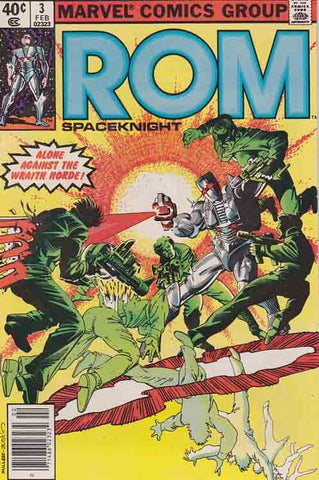 Rom Spaceknight 3 Marvel 1979