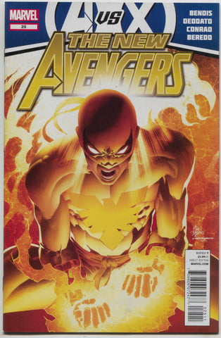 New Avengers 25 A 2nd Series Marvel 2012 Mike Deodato