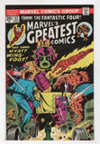 Marvels Greatest Comics 62 1976 FN VF Fantastic Four 80 Jack Kirby