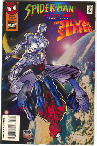 Spider-Man Team-Up 2 Marvel 1995 NM Silver Surfer Thanos