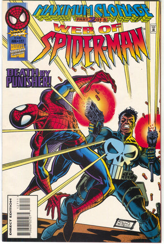 Web Of Spider-Man 127 Marvel 1995 NM- Maximum Clonage 2 Punisher
