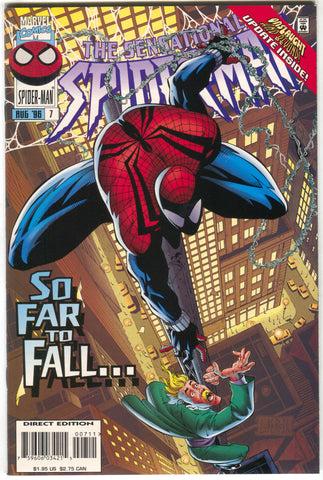 Sensational Spider-Man 7 Marvel 1996 NM Ben Reilly