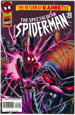 Spectacular Spider-Man 231 Marvel 1996 NM Return Of Kaine 1 Sal Buscema