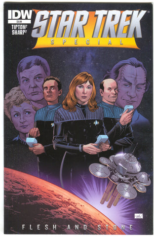 Star Trek Special Flesh And Stone 1 IDW 2014 NM-