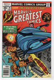 Marvels Greatest Comics 76 1978 FN VF Fantastic Four 95 Jack Kirby