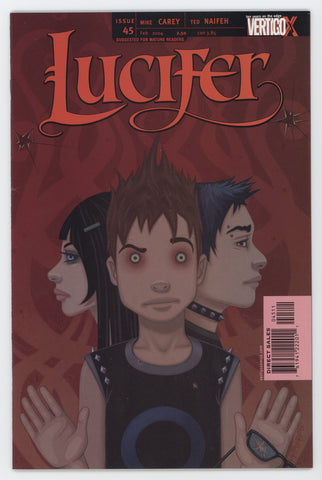 Lucifer 45 DC Vertigo 2004 NM- Sandman Mike Carey