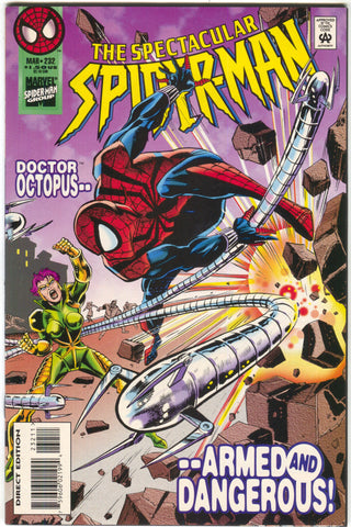 Spectacular Spider-Man 232 Marvel 1996 NM Dr. Octopus Sal Busceama