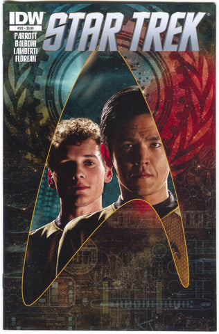 Star Trek 20 A IDW 2013 NM Tim Bradstreet