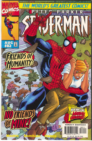 Spider-Man 82 1st Series Marvel 1997 NM John Romita