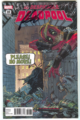 Despicable Deadpool 300 Marvel 1:25 Tony Moore Variant Signed Rob Liefeld