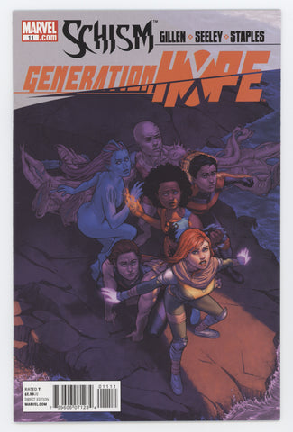Generation Hope #11 Marvel 2011 RODIN ESQUETO KIERON GILLEN X-Men