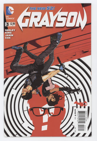 Grayson #3 A DC 2014 Mikel Janin Tim Seeley New 52