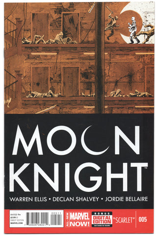 Moon Knight 5 5th Series Marvel 2014 NM Warren Ellis Declan Shalvey