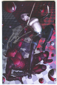 Despicable Deadpool 300 Marvel In-Hyuk Lee Virgin Variant Signed Rob Liefeld
