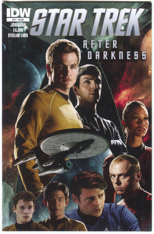 Star Trek 21 A IDW 2013 NM- Tim Bradstreet