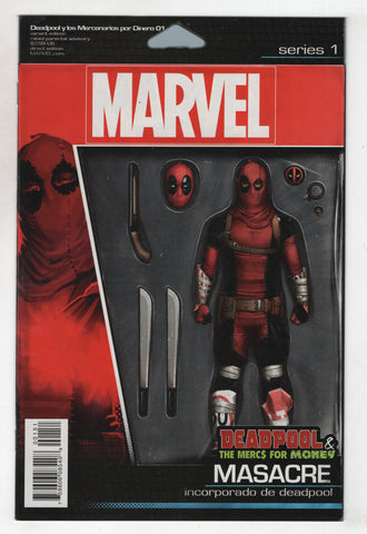 Deadpool Mercs For Money 1 C Marvel 2016 NM John Tyler Christopher Action Figure