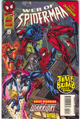 Web Of Spider-Man 129 Marvel 1995 NM Final Issue New Warrior Scarlet Spider