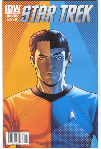 Star Trek 1 B IDW 2011 NM- 1:5 David Messina Variant