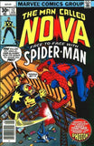 Man Called Nova 12 Marvel 1976 Spider-Man