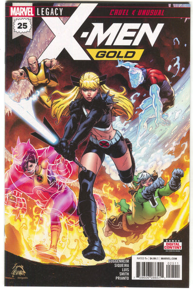 X-MEN GOLD #25 Marvel Legacy Ryan Stegman (04/04/2018)