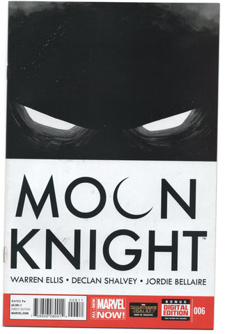 Moon Knight 6 5th Series Marvel 2014 NM Warren Ellis Declan Shalvey