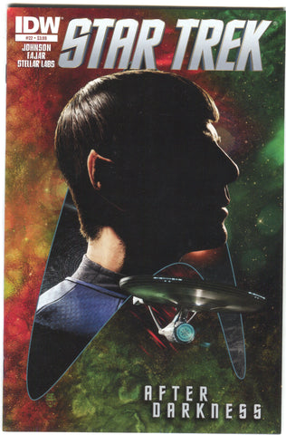 Star Trek 22 A IDW 2013 NM Tim Bradstreet