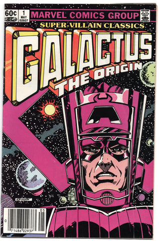 Super Villain Classics Galactus The Origin 1 Marvel 1983 FN Bob Layton