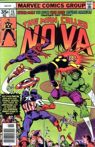 Man Called Nova 15 Marvel 1977 Avengers