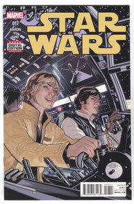 Star Wars 17 Marvel 2016 NM Terry Dodson Luke Skywalker Han Solo
