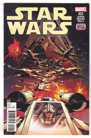 Star Wars 22 Marvel 2016 NM Mike Deodato X-Wing Luke Skywalker