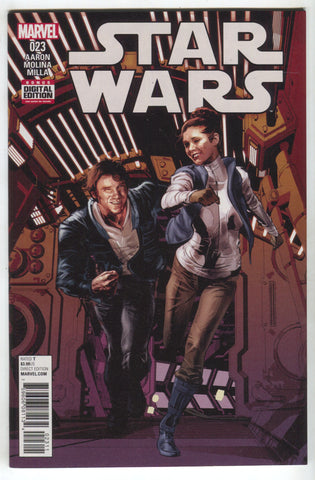 Star Wars 23 Marvel 2016 NM Mike Deodato Han Solo Princess Leia