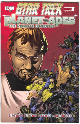 Star Trek Planet Of The Apes Primate Directive 4 A IDW 2015 NM Rachel Stott