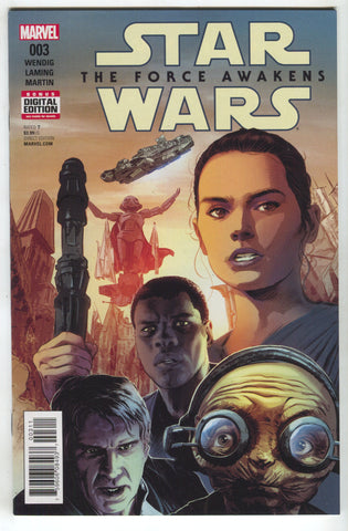 Star Wars Force Awakens 3 Marvel 2016 NM Mike Deodato
