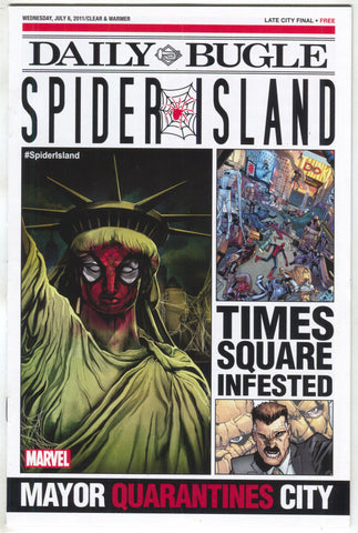 Spider Island Daily Bugle 1 Marvel 2011 NM Amazing Spider-Man Agent Venom
