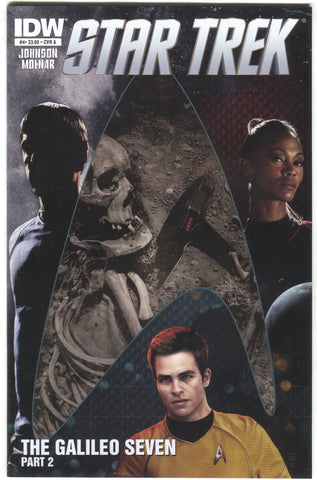 Star Trek 4 A IDW 2011 NM Tim Bradstreet