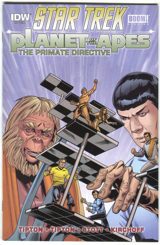 Star Trek Planet Of The Apes Primate Directive 5 A IDW 2015 NM Rachel Stott