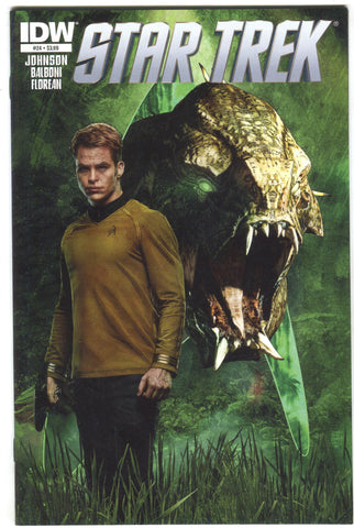 Star Trek 24 A IDW 2013 NM Tim Bradstreet