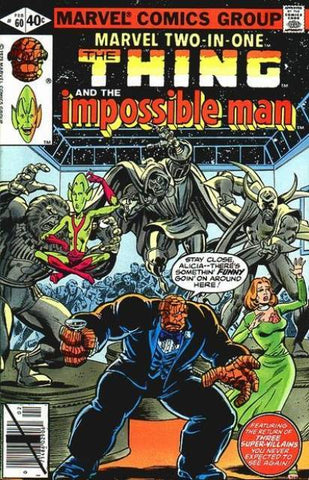 Marvel Two-In-One 60 Thing Impossible Man